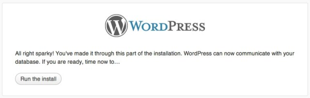 Preparing to Install WordPress PHP and ASP