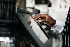 a user adjusting the computer program