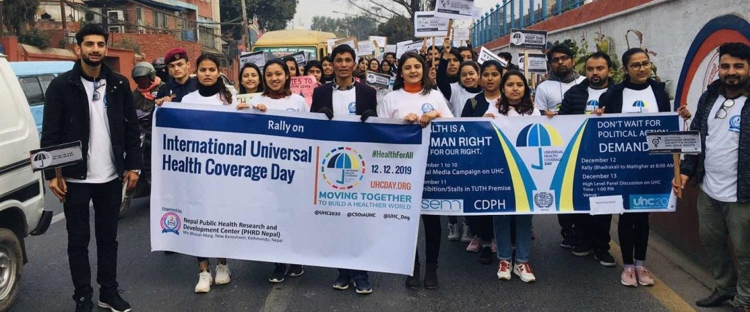 Rally on International Universal Health Coverage 2019