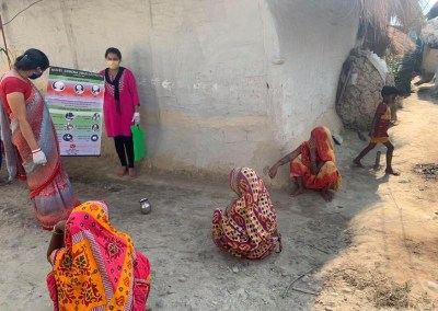 Hygiene and Family Planning awareness and Support for Mushar Community of Karjanha Municipality for enabling them to cope with ongoing COVID-19 Pandemic.