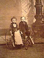 Colonel Tom Thumb and wife