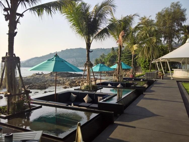 シーソルト ラウンジ&グリル (Sea Salt Lounge & Grill ) / パトンビーチのレストラン