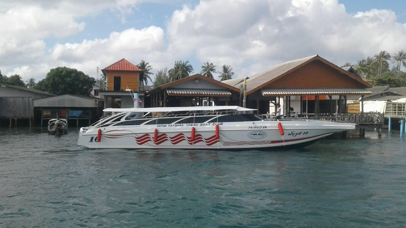 プーケット⇔ピピ島行きのスピードボート / Anda Varee の運航スケジュールについて (2019年10月15日まで)