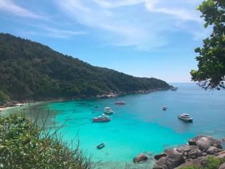 4.シミラン諸島の観光その2 シミラン島( Koh 8 )島内の散策 / カタマラン(双胴船)でゆくシミラン島ツアーの紹介(その2)
