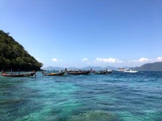 ラヤ島+コーラル島 (バナナビーチ)ツアーの紹介 (その2)