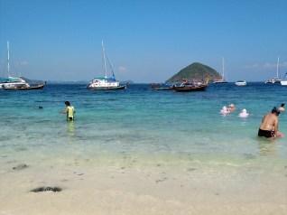 ラヤ島+コーラル島 (バナナビーチ)ツアーの紹介 (その2))