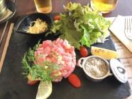 マグロのタルタルステーキ / THE KITCHEN PATONG / パトンビーチのレストラン