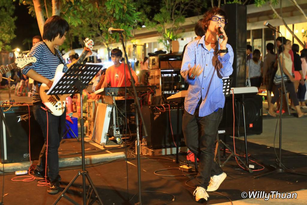 Live Band at Phuket Indy Market