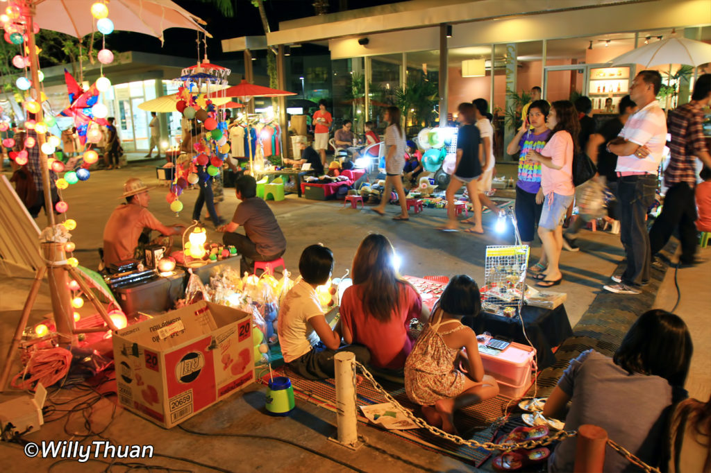 Night shopping at Phuket Indy Market