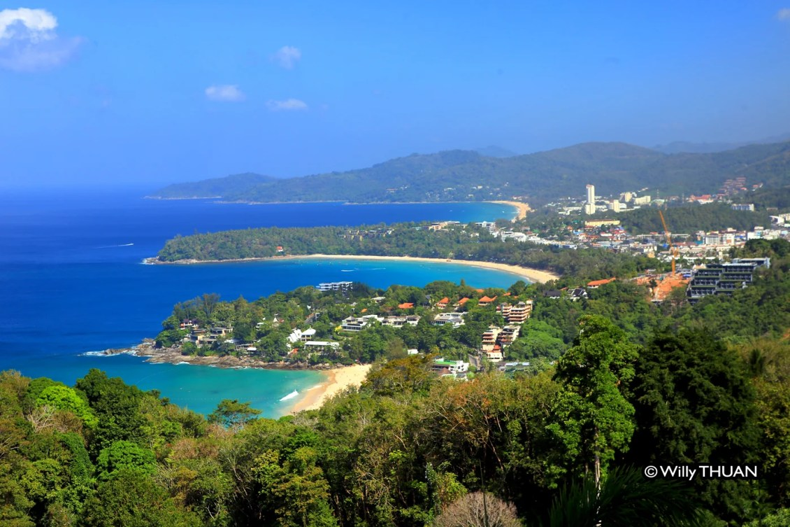 Kata Beach from Viewpoint
