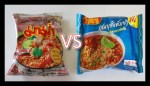 Mama vs WaiWai Instant Noodles