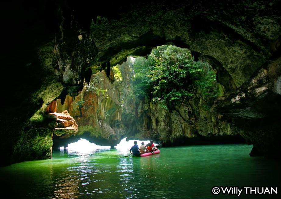 Phang Nga Bay by Sea Canoe