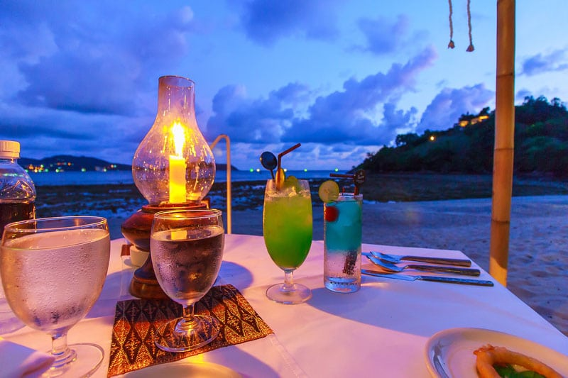 Beachfront Meal in Phuket