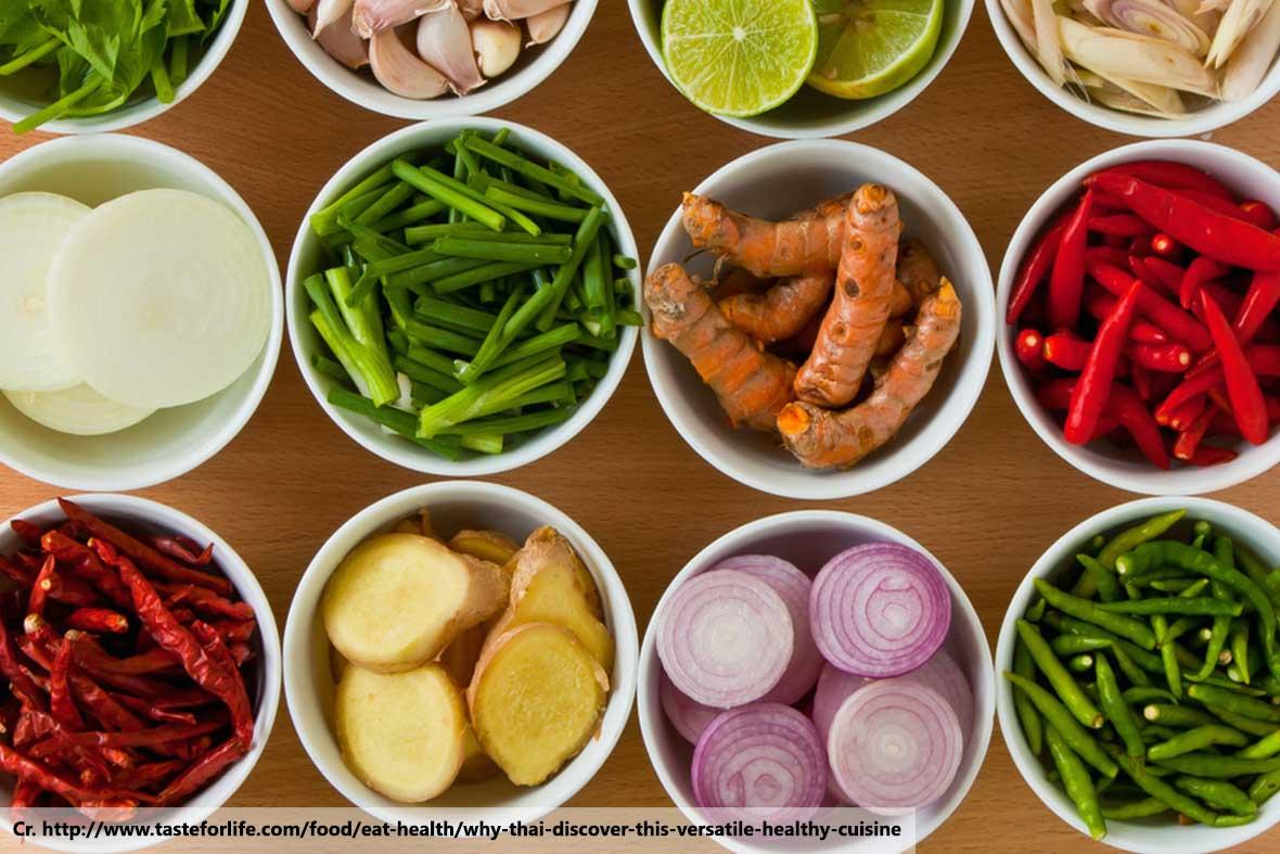 Ingredients in Thai Food