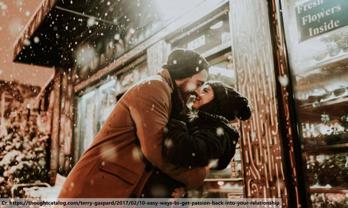 Putting the Passion Back, Passion in Your Marriage, Romantic Tips