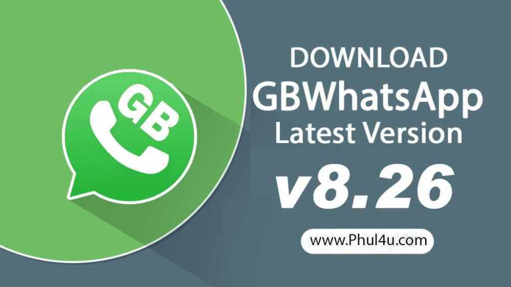 gbwhatsapp 8.26 apk latest version download phul4u