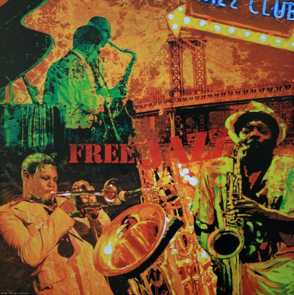 Free jazz-Taylor Burke