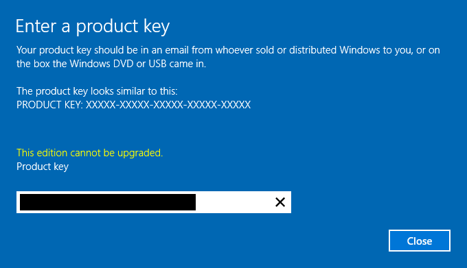 get windows server product key powershell