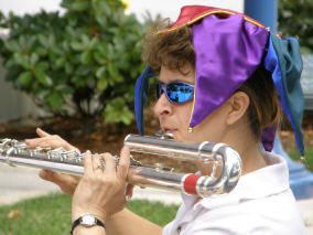 Lisa Steinkamp & bass flute (small)