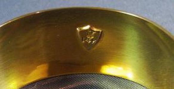 14k Gold Napkin Ring 02