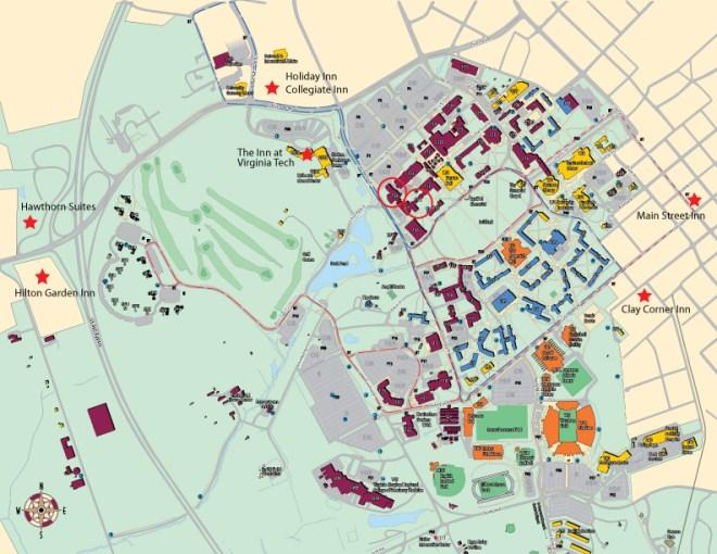 Wake Tech Southern Campus Map