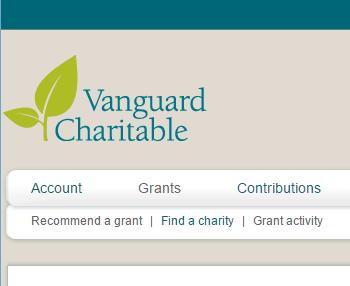 vanguard charitable