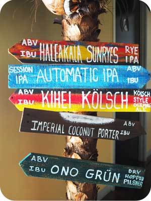 maui brewing signs