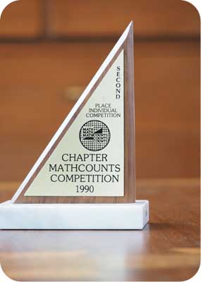 mathcounts trophy