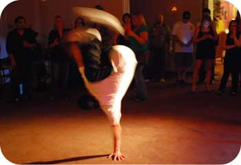 breakdancing move