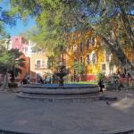Plaza Fountain in Guanajuato