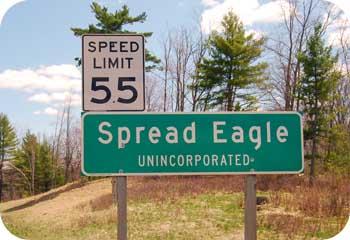 Spread Eagle WI