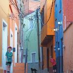 Our walk to school in Guanajuato