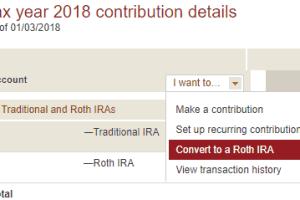 Backdoor Roth 2018
