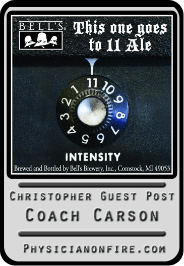 Christopher Guest Post: Coach Carson