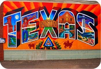 Texas Mural Austin