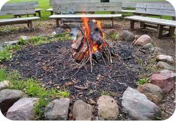 camp fi fire