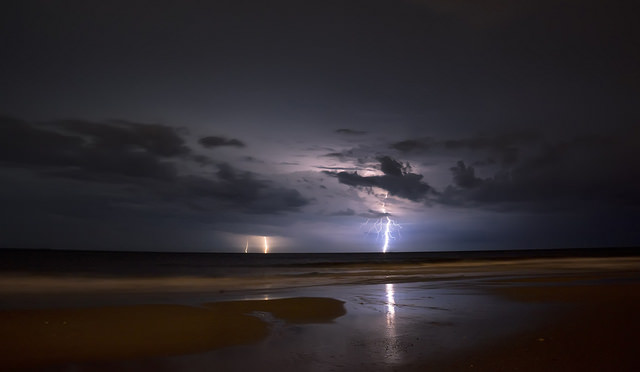 The calm after the storm brings with it countless negative ions - image by James Loesch