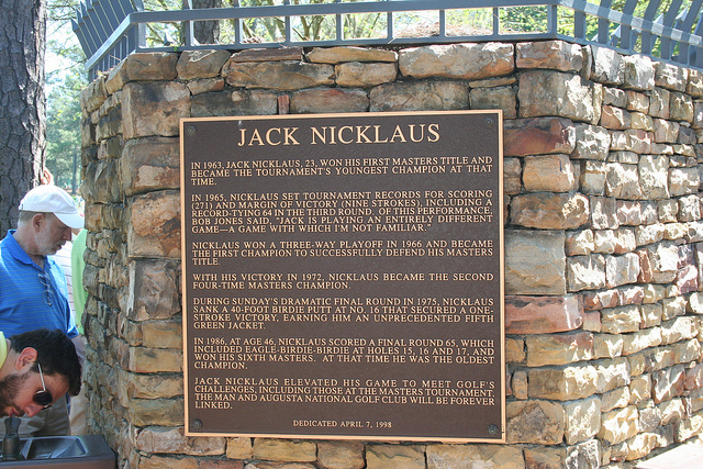 Jack Nicklaus is still the most successful Masters champion - Picture credit - Shannon Hurst Lane