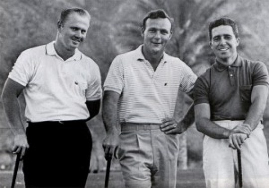 The Big Three - Nicklaus, Palmer & Player - Picture credit - Saturday Evening Post
