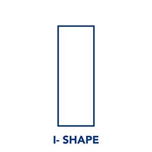 Kinesiology Tape - I Shape