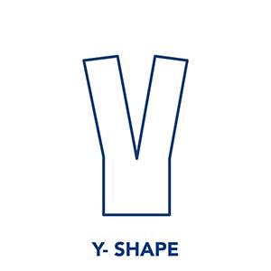 Kinesiology Tape - Y SHape