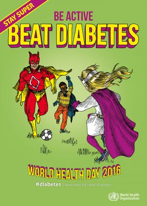 Be active - beat diabetes!