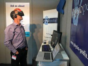 Tony loving the VR at ER-WCPT