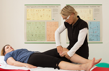 Physiotherapie Basel. Kathrin Lilienthal, Triggerpunkte