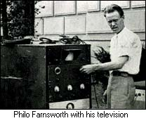 Farnsworth with his television