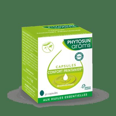 Capsules confort printanier*