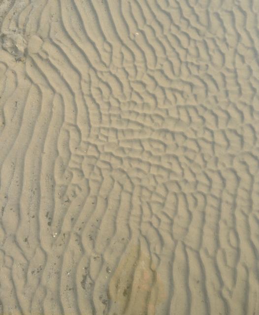 Dünen unter Wasser