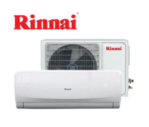 Rinnai Split System Air Conditioning System with indoor and outdoor units