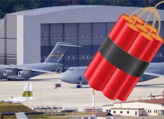 In der Ramstein Air Base wollte ein Afghane Sprengstoff in ein US-Flugzeug schmuggeln (Symbolbild).