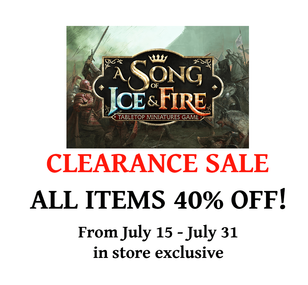 song of ice and fire clearance PI